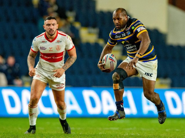 Rhinos need to replace Rob Lui who will return to Australia at the end of this season. Picture by Bruce Rollinson.
