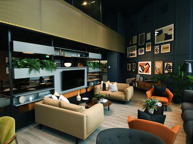 Inside one of the stunning apartments in the new Mustard Wharf development. Photo: Jonathan Gawthorpe
