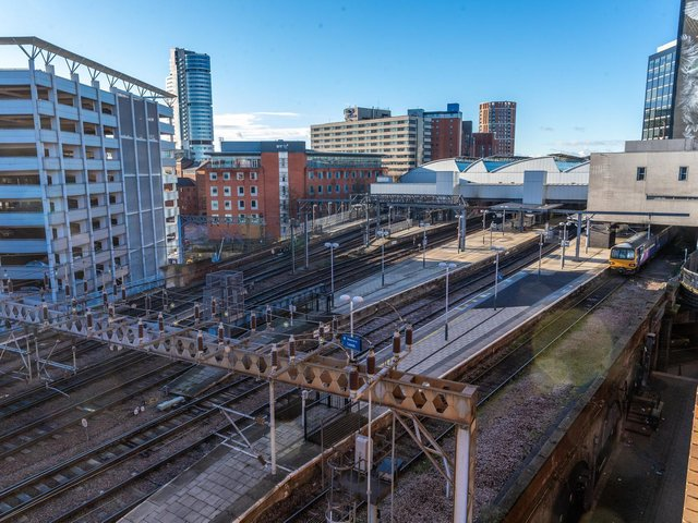 More than £300m of investment to make train journeys between Leeds, York and Manchester more punctual and reliable has been announced by the Government.