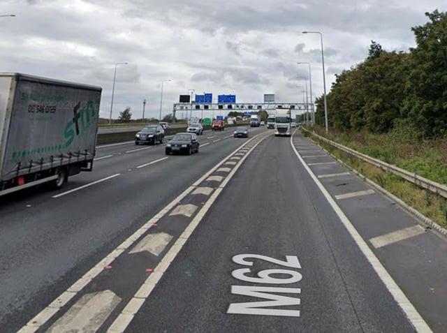 M62 motorway stock image (photo: Google)