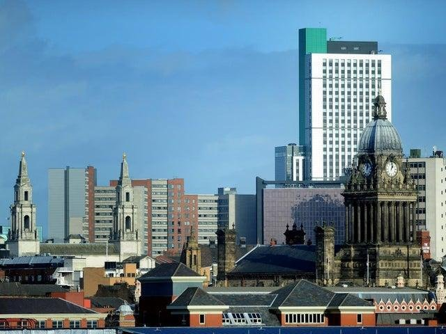 The skyline in Leeds is changing
