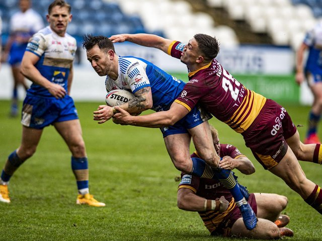 Richie Myler. Picture by Tony Johnson.