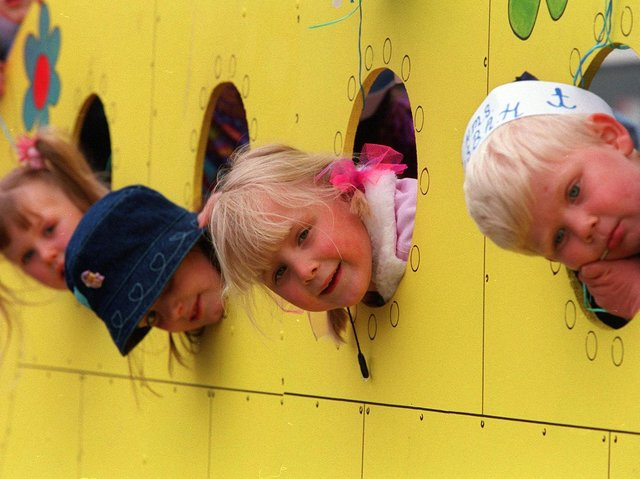 Enjoy these photo memories of Pudsey Carnival from the 1990s and early 2000s. PIC: Mark Bickerdike