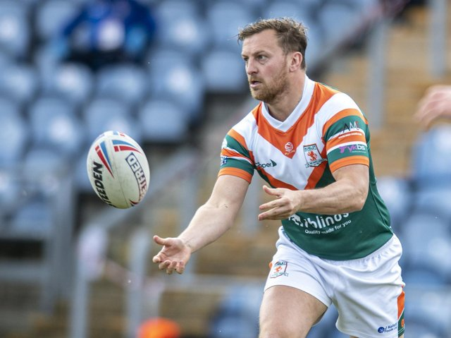 Simon Brown has joined Hunslet's lengthy casualty list. Picture by Tony Johnson.