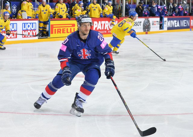 NO LET-UP: GB and Sheffield Steelers' captain, Jonathan Phillips. Picture: Dean Woolley.
