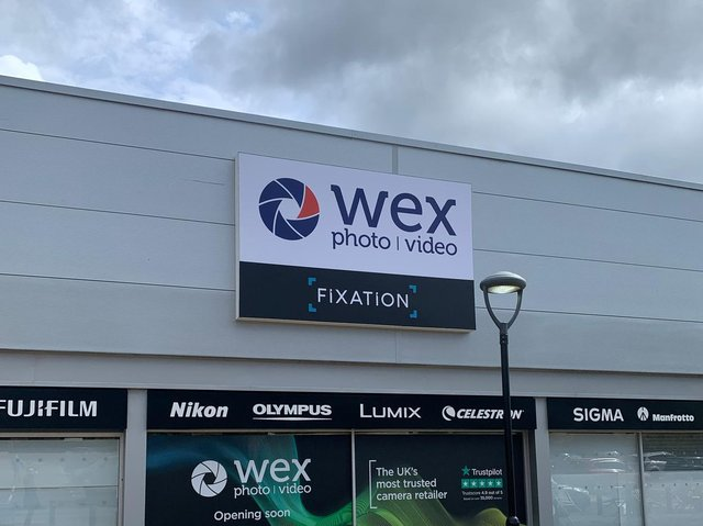 Specialist photographic retailer Wex Photo Video has opened a store in Leeds