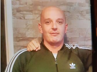 Christopher Taylor, 35, has been missing from his home in Farsley since 5.30am today. Photo: West Yorkshire Police.