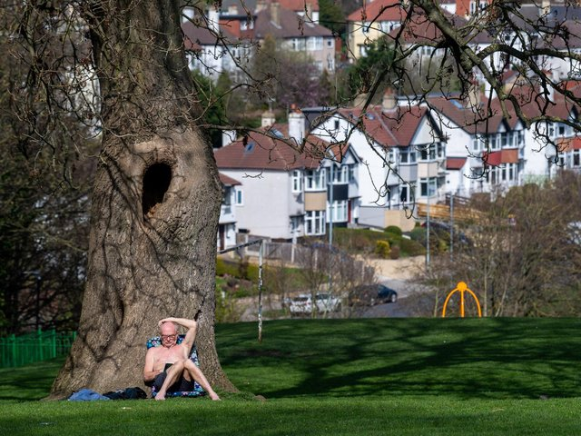 The balmy bank holiday is set to bring the warmest weather of the year so far.