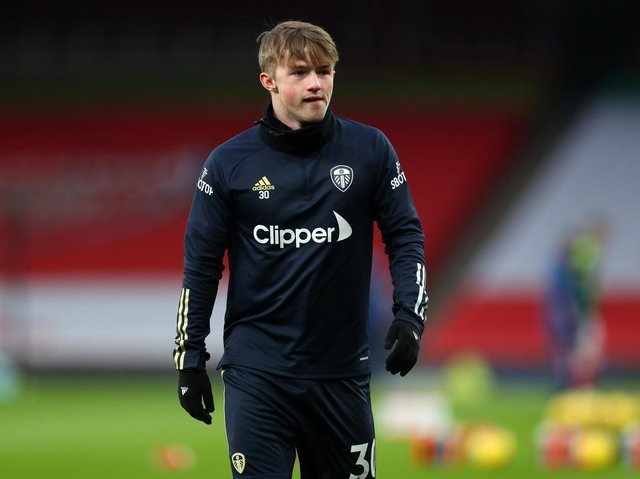 Leeds United youngster Joe Gelhardt. Pic: Getty