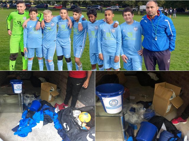 Leeds Hyde Park FC have launched a fundraising appeal after burglars stole £5,000 worth of the club's kit and equipment.