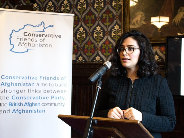 """Shabnam Nasimi, founder of the Conservative Friends of Afghanistan group. Prominent Conservative voice Shabnam Nasimi says the Home Secretary's immigration plans risks punishing refugees. Ms Nasimi, who was born in Afghanistan has said """"I think putting refugees in the same box as European economic migrants punishes refugees, people who are fleeing war torn countries such as Afghanistan for security and a safe life.""""  PA"""