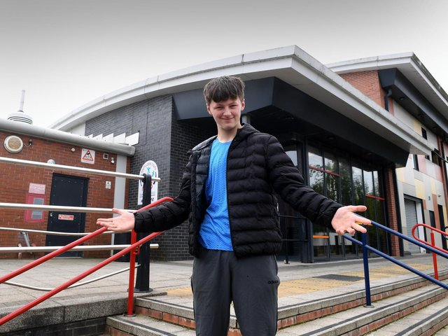 Brandon Howey of Lofthouse is looking forward to the next chapter after leaving school.