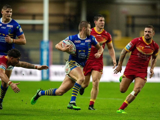 Jack Walker made his initial comeback from a fractured foot against Catalans last September. Picture by Bruce Rollinson.