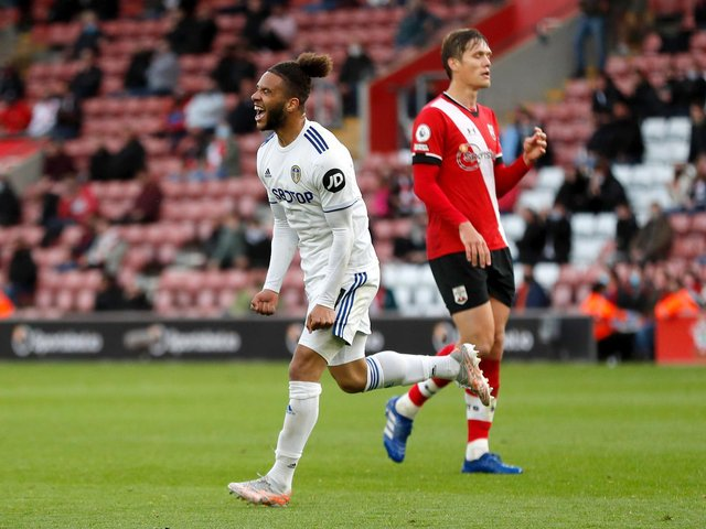 RELIEF: For Leeds United forward Tyler Roberts. Photo by Frank Augstein - Pool/Getty Images.