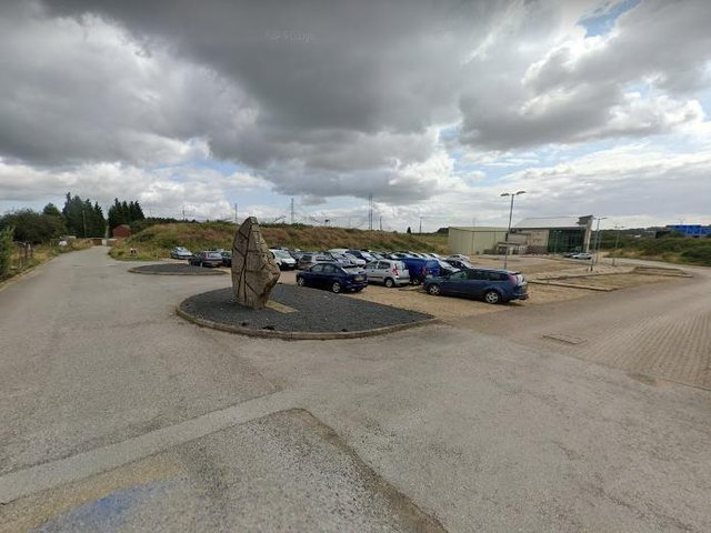 The car park at the former golf club. (Pic: Google maps)