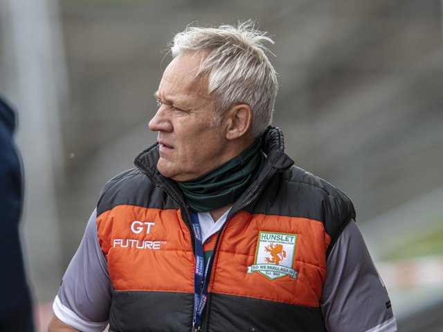 Hunslet coach Gary Thornton. Picture by Tony Johnstone.