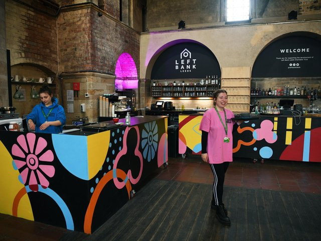 The hub is open seven days a week operating as a café (photo: Jonathan Gawthorpe)