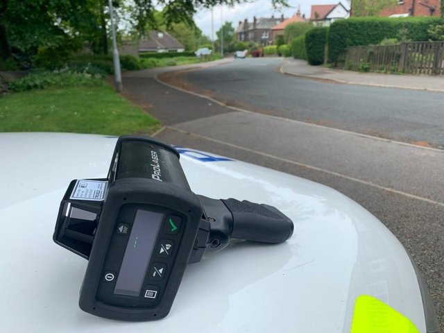 Police issued several speeding tickets during the operation (Photo: WYP)