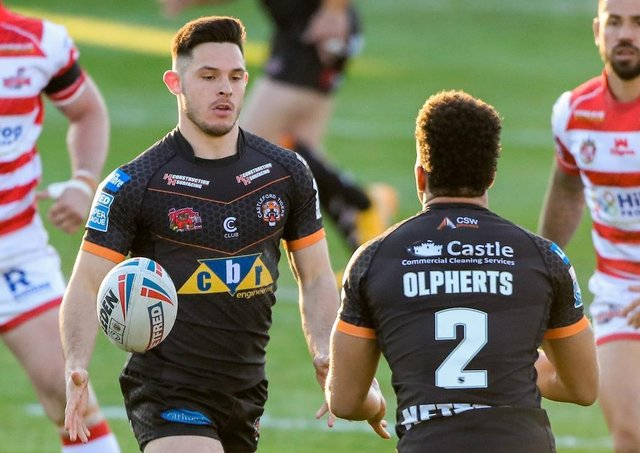 Castleford Tigers full-back Niall Evalds is injury free and ready to take on Warrington Wolves in Saturday's Challenge Cup semi-final at Leigh. Picture: Alex Whitehead/SWpix.com.