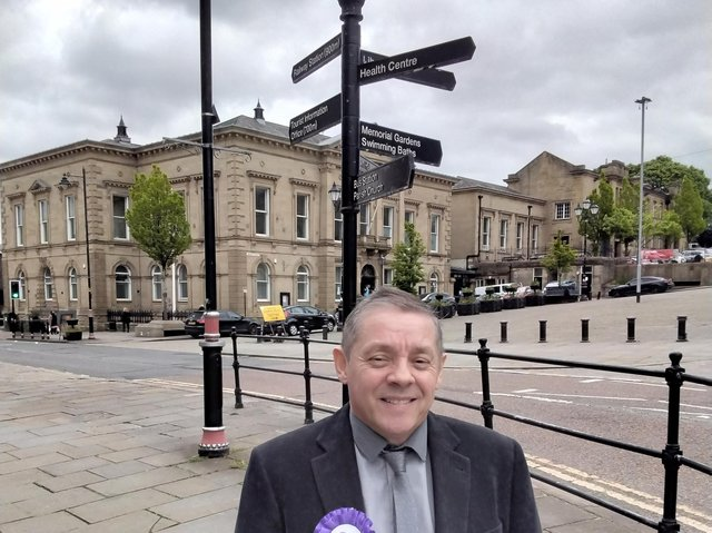 Paul Bickerdike will be standing for the Christian People's Alliance in the Batley and Spen by-election