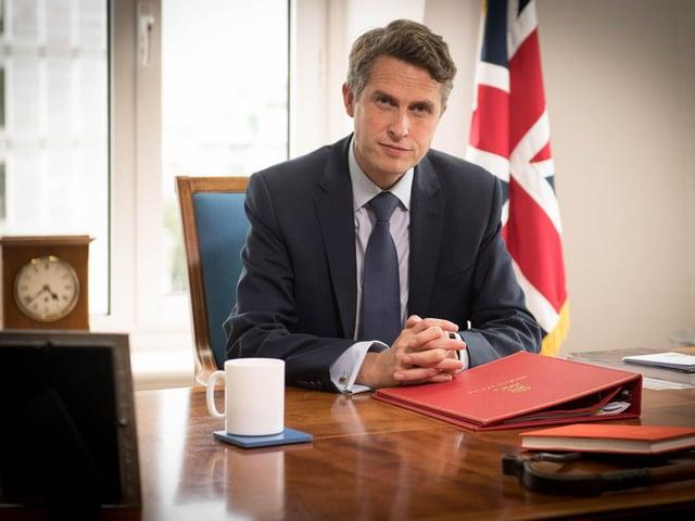 Education secretary, Gavin Williamson.