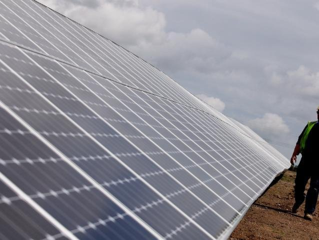 A new solar farm could be approved by next week. (Pic: Getty)