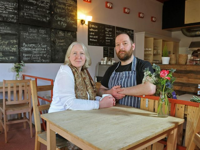 Jo and Stu Myers, owners of The Swine that Dines.