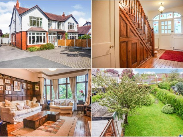 Take a look inside this impressive family home in Moortown...