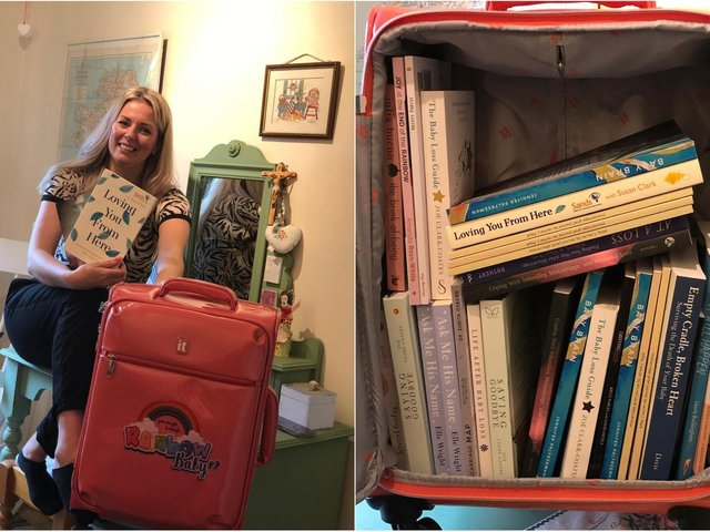 Jennifer Palfreeman, 40, runs charity Rainbow Baby which provides rainbow vests and care packages to hospitals across Leeds for women.
