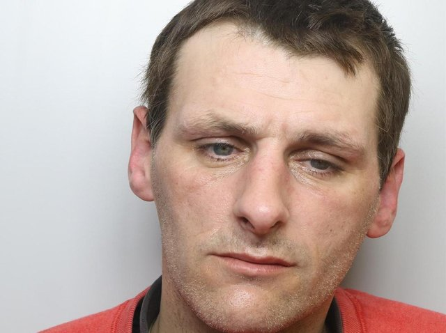 Ian Rose tried to attack man with hammer during house burglary in Hemsworth.