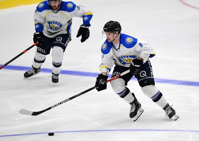BRING IT ON: Joe Coulter is keen to play in front of fans again at Ice Sheffield. Picture: Jonathan Gawthorpe.