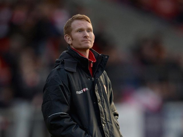 HEAD COACH: Featherstone Rovers' James Webster. Picture: Getty Images.