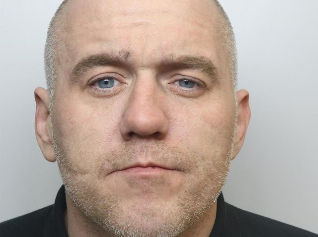 Bogus workman Steven Wright was jailed for six years.