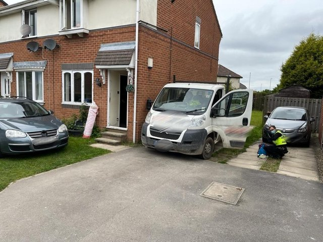 Police raided a house in Middleton (photo: West Yorkshire Police Leeds South)