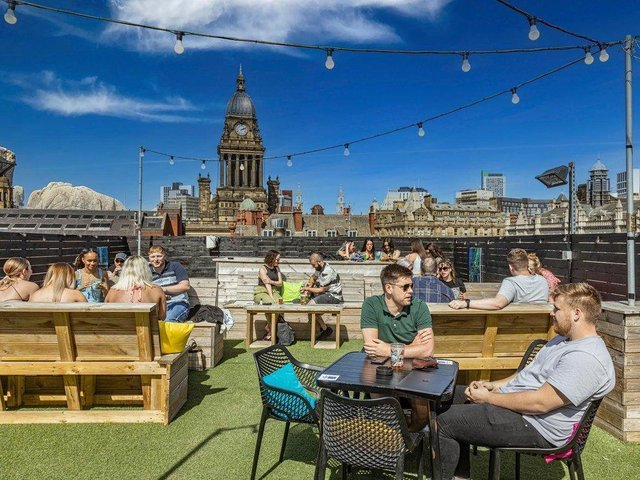 The Rooftop at East Parade bar