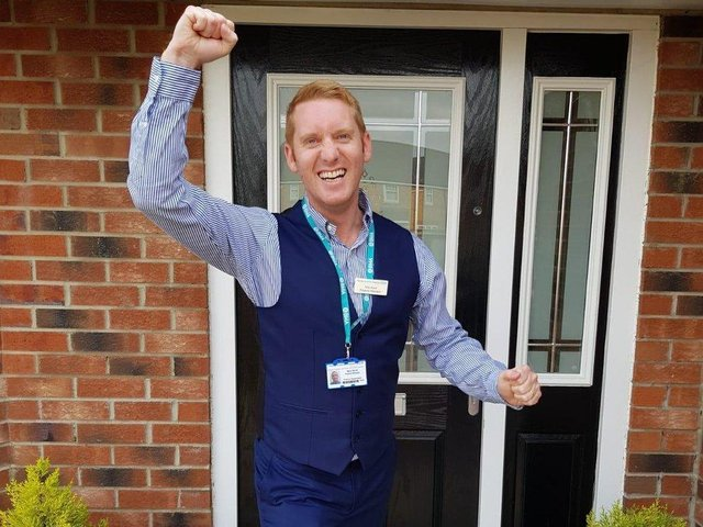 Nick Wyrill, Wakefield is raffling off his house and donating 10 per cent to the NHS (photo: Nick Wyrill)