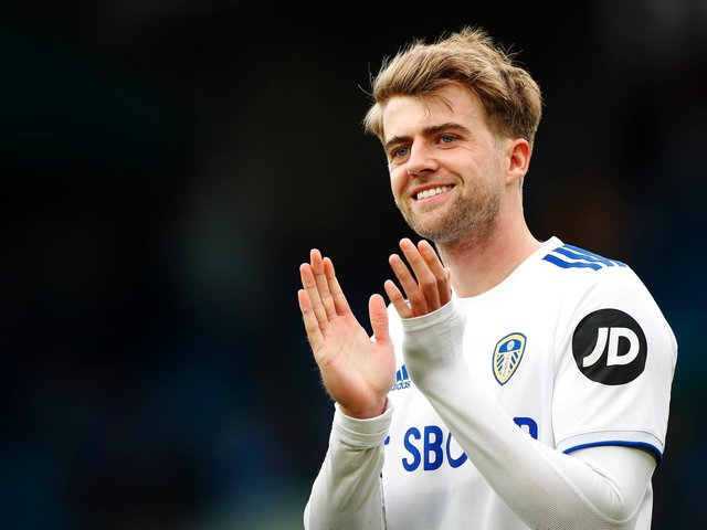NOT FORGOTTEN: Leeds United striker Patrick Bamford. Photo by Lynne Cameron - Pool/Getty Images.