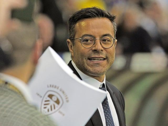 Leeds United majority owner Andrea Radrizzani. Pic: Jonathan Gawthorpe
