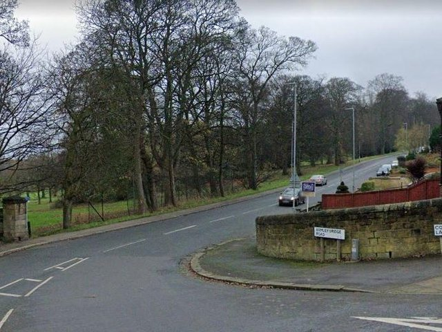 The junction of Armley Ring Road and Cockshott Lane, where the incident took place (Photo: Google)