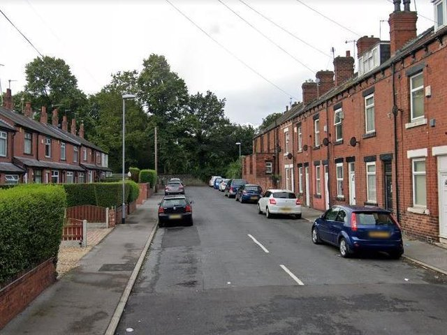 Parnaby Terrace, Hunslet, where the incident took place