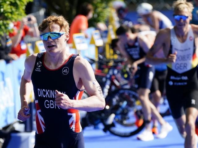 The triathlon took place in Roundhay Park. (Pic: PA/WIRE)