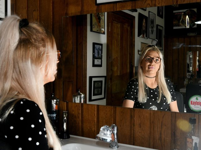 Leeds barber and writer Kayleigh Bradshaw offers mental health support beyond the barber's chair