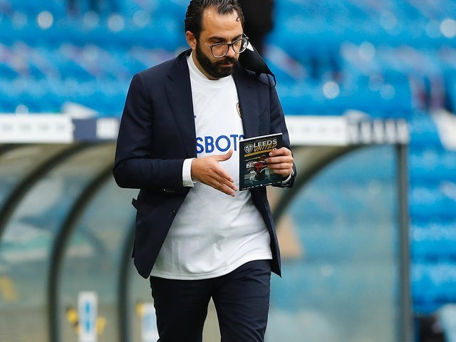 WINDOW OPENING: For Leeds United and director of football Victor Orta, above. Photo by Lynne Cameron - Pool/Getty Images.