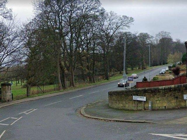 The junction of Armley Ridge Road and Cockshott Lane, where the incident took place (Photo: Google)