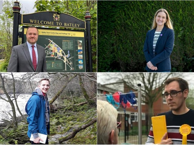 A total of 16 candidates will contest the Batley and Spen by-election. Pictured is four of them. From left to right clockwise: Ryan Stephenson candidate for the Conservatives, Kim Leadbeater candidate for Labour, Tom Gordon candidate for the Liberal Democrats and Corey Robinson for the Yorkshire Party.