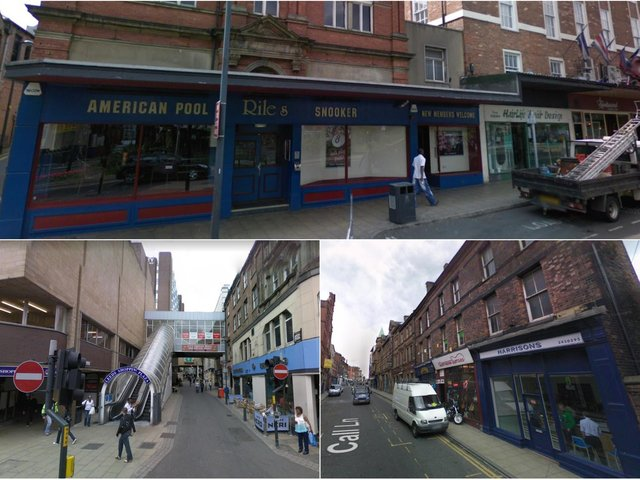 This is how Leeds looked in 2008.