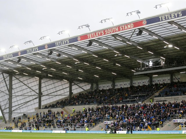 Friday is due to be only Rhinos' second game in front of fans at Emerald Headingley this year, after a loss to Hull last month. Picture by Richard Sellers/PA.