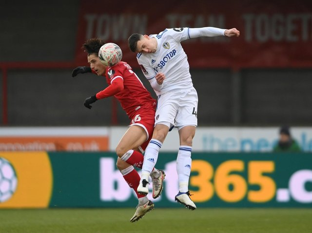MOVING ON - Blackpool are interested in taking Oliver Casey from Leeds United on a permanent basis. He's one of a number who could leave this summer. Pic: Getty