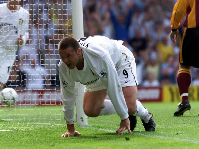 Enjoy these photo memories from Leeds United's 6-1 win against Bradford City at Elland Road in May 2001. PIC: Getty
