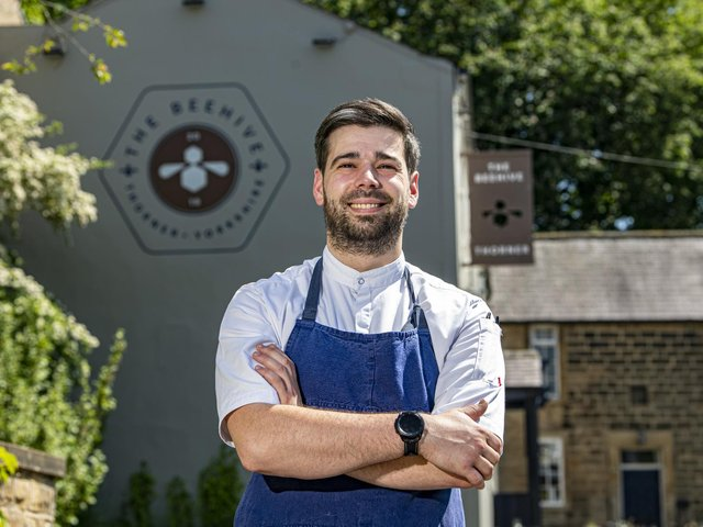 Leeds chef Alex Farolfi has recently been appointed head chef at The Beehive in Thorner